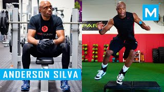 Anderson Silva Conditioning Training Workouts | Muscle Madness