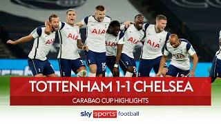 Spurs progress after tense penalty shootout! | Tottenham 1-1 Chelsea | Carabao Cup Highlights