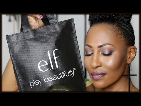 E.L.F One Brand Makeup Tutorial (well 99.7% lol)⎮First Impressions