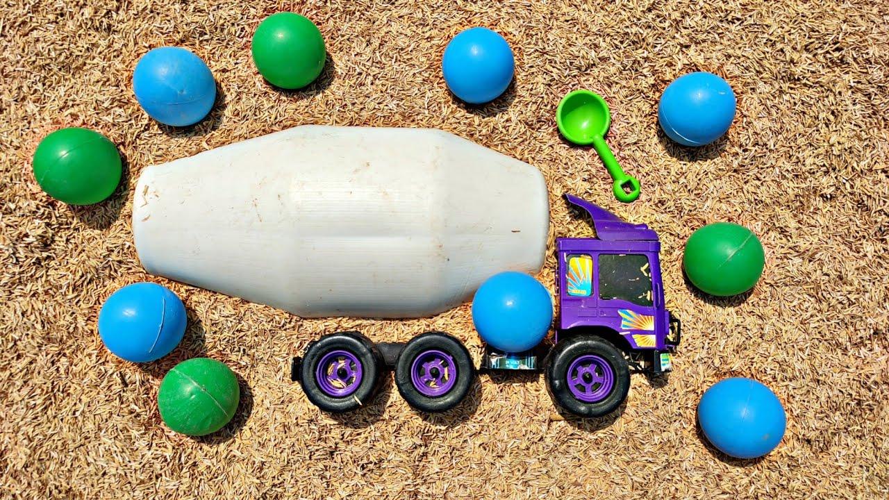 Menemukan Mobil Mainan Mobil Truk, Truk Oleng, Mobil Oleng, Tayo, Mobil Molen, Truk Molen,Beko, Truk