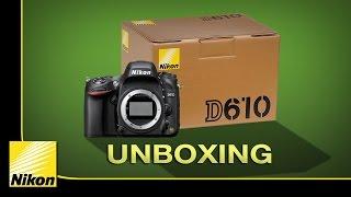 Nikon D610 Unboxing - ISO Testing فتح صندوق نيكون دي 610