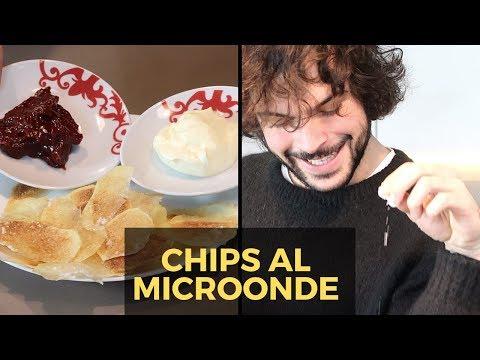 Patatine fritte velocissime al microonde   CUCINA BUTTATA - Guglielmo Scilla