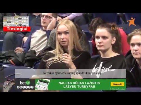 """""""Lietuvos rytas"""" - """"Neptūnas"""" tiesioginė spaudos konferencija"""