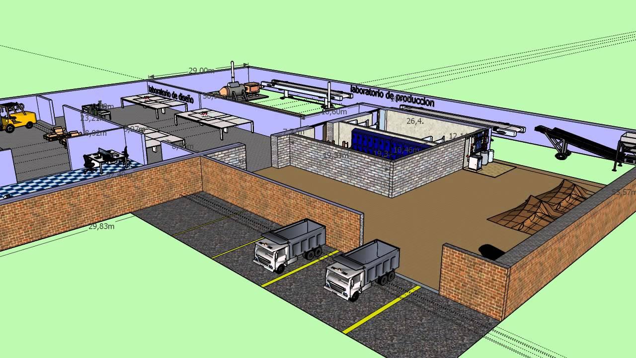 Dise o de fabrica de baldosa youtube for Fabrica de baldosas en santiago