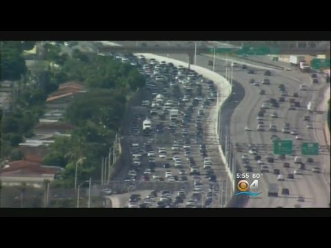 Study: South Florida In Top 20 For Traffic Congestion