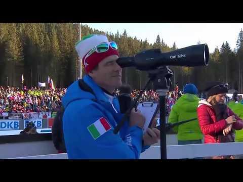 Biathlon World Cup 3 (2015-2016) - Women's 12,5km Mass Start race