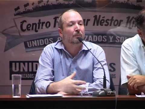 Ciclo de formación política con Martin Sabbatella - AFSCA