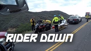 Motorcycle Crashed + Dual Vlog + Wheelies + Canyons!