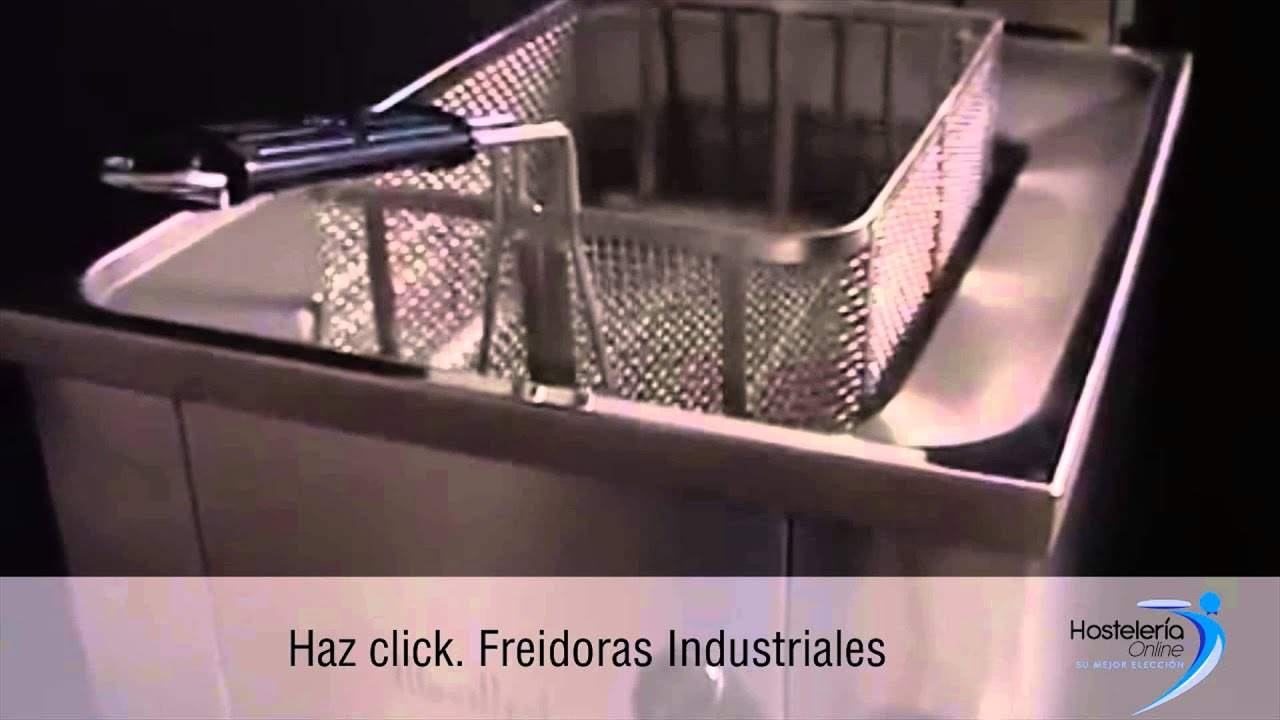Freidoras industriales youtube for Freidora industrial
