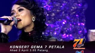 Hari RTM 71 (TV1) : Konsert Gema 7 Petala