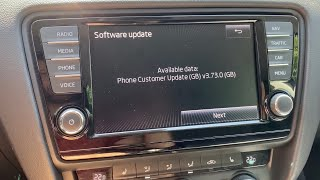 How to update for free Skoda BLUETOOTH Version (For almost all Skoda Models)  step by step
