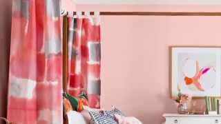 Modernize Your Room with Stencil Drapes
