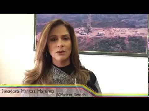 H.S. Maritza Martínez explica proyecto de castración química a violadores y abusadores de menores