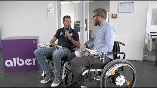 Rollstuhl Zusatzantrieb e fix Alber Bluetooth Update