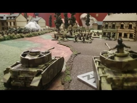Flames of War Battle Report - Strelkovy Battalion vs SS Tote