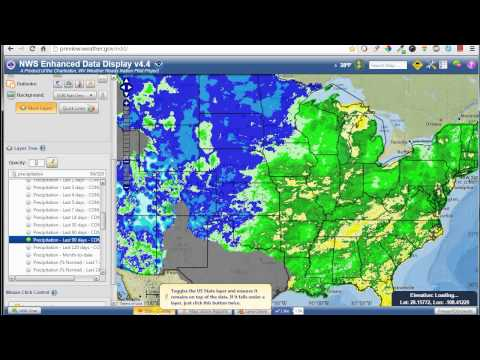 NWS - Full Enhanced Data Display EDD Demo