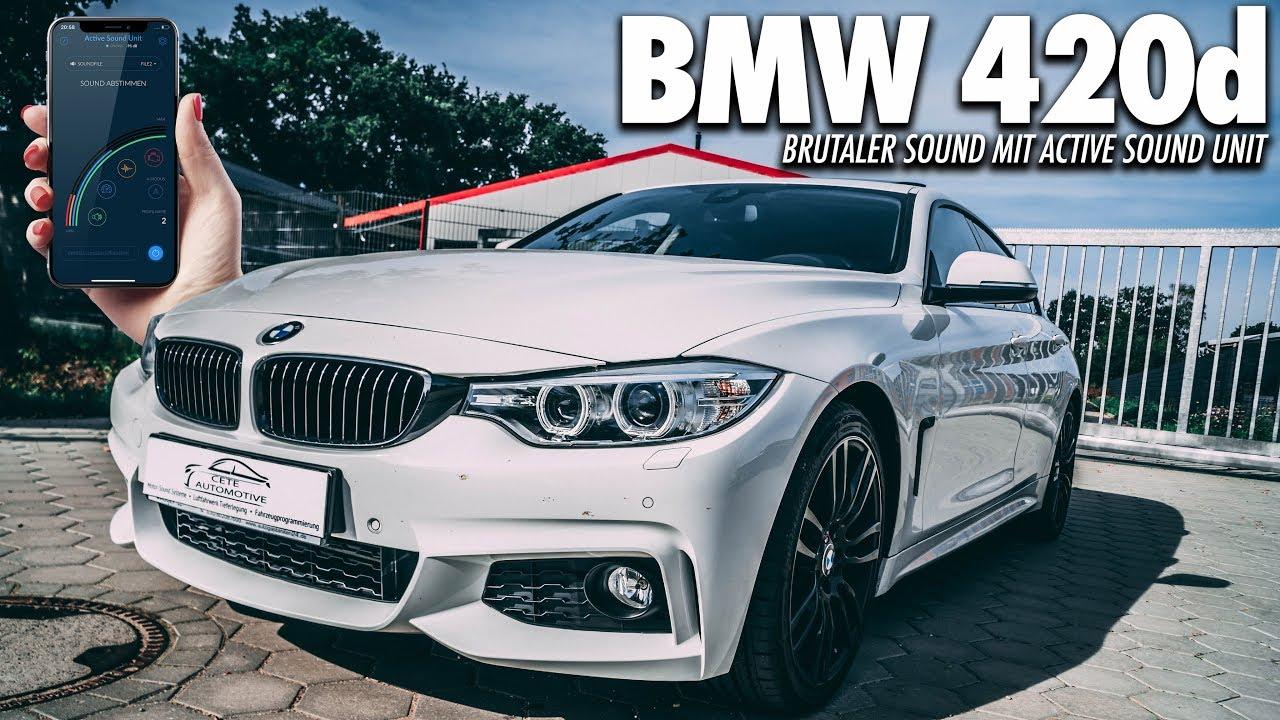 FEHLZÜNDUNGEN IM BMW 420d!? | Active Sound - Sound Booster - Cete Automotive