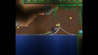 TERRARIA  The new fishing glitch is SO OVER POWERED. Works on console.