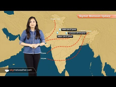 Onset dates of Monsoon 2017 for your city