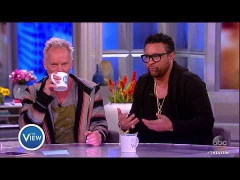 Sting, Shaggy On Performing For The Queen, Why They Collaborated On New Album | The View