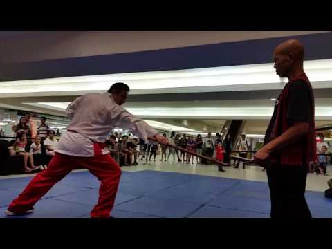 Filipino Martial Arts  Arnis Demonstrated by Master Manning Bunsa