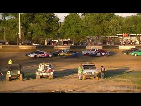 6.24.17 | UMP Hornets Heats & Feature | Fayette County (IL) Speedway