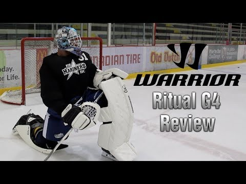 Warrior Ritual G4 Review | What I'm Wearing For College Hockey