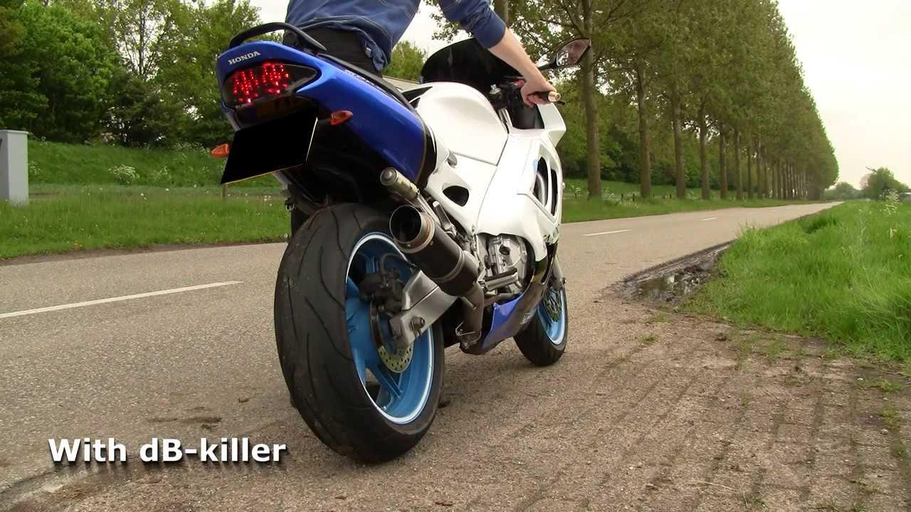 G&G Moto2 exhaust Honda CBR600 F3 1995-1998 - HD - YouTube