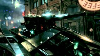 Official Batman Arkham Knight Batmobile Battle Mode Gameplay Trailer