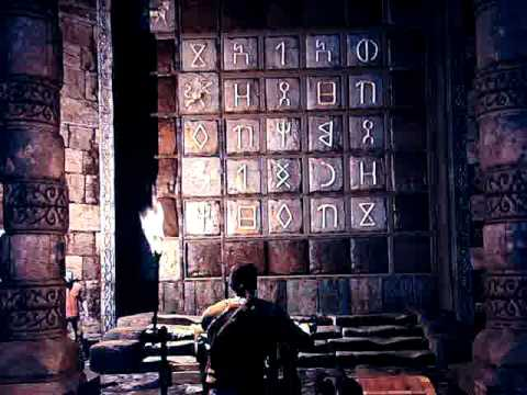 Uncharted 3 Symbol Emblem Puzzle In Chapter 6 Chateau Crypt Youtube