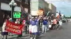Little Falls, Minnesota Central MN Peace and Diversity Fair Parade Bank Square 6 23 12 #1