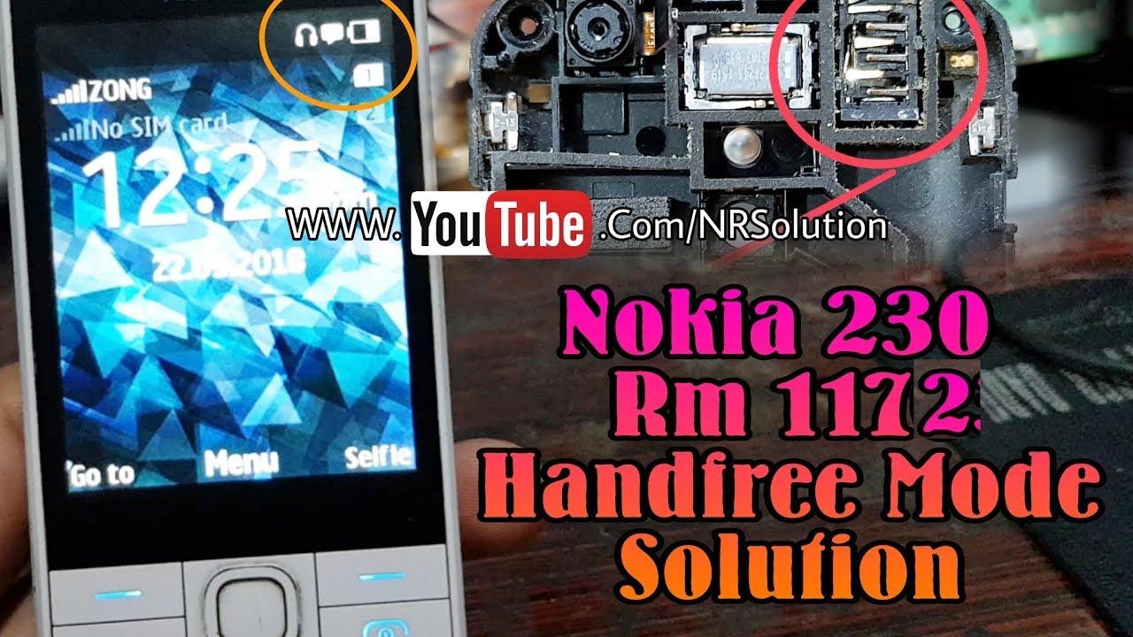 Nokia 230 Handfree Mode Solution Youtube