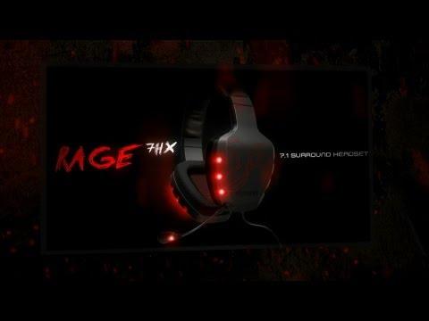 Rage 7HX, 7.1 Headsets