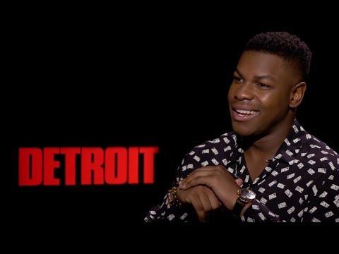 John Boyega Talks Detroit & Star Wars | Exclusive Interview