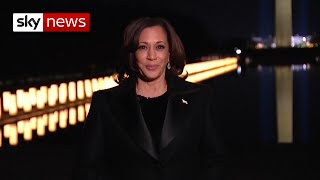 Kamala Harris: 'Believe in what we can do together'