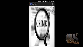 Crime Management System (Android App)