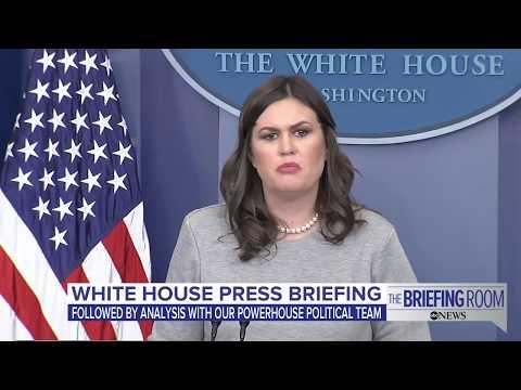 White House press briefing on government shutdown, Donald Trump Jr., Sen. Franken | ABC News