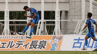 アスルクラロ沼津vsカターレ富山 J3リーグ 第17節