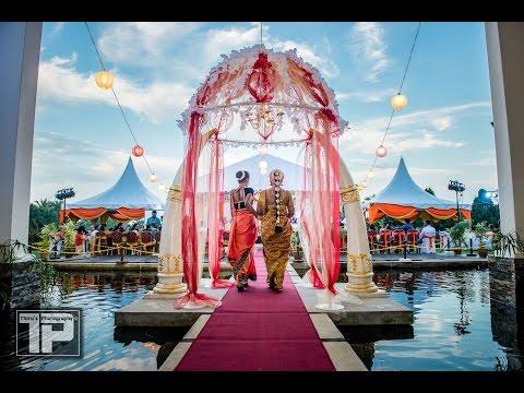 Shan & Sujie | Malaysian Indian beautiful garden wedding