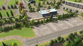 How to Build A Transport Hub | Ep 6 | Cities:Skylines - Real Town Planner Plays