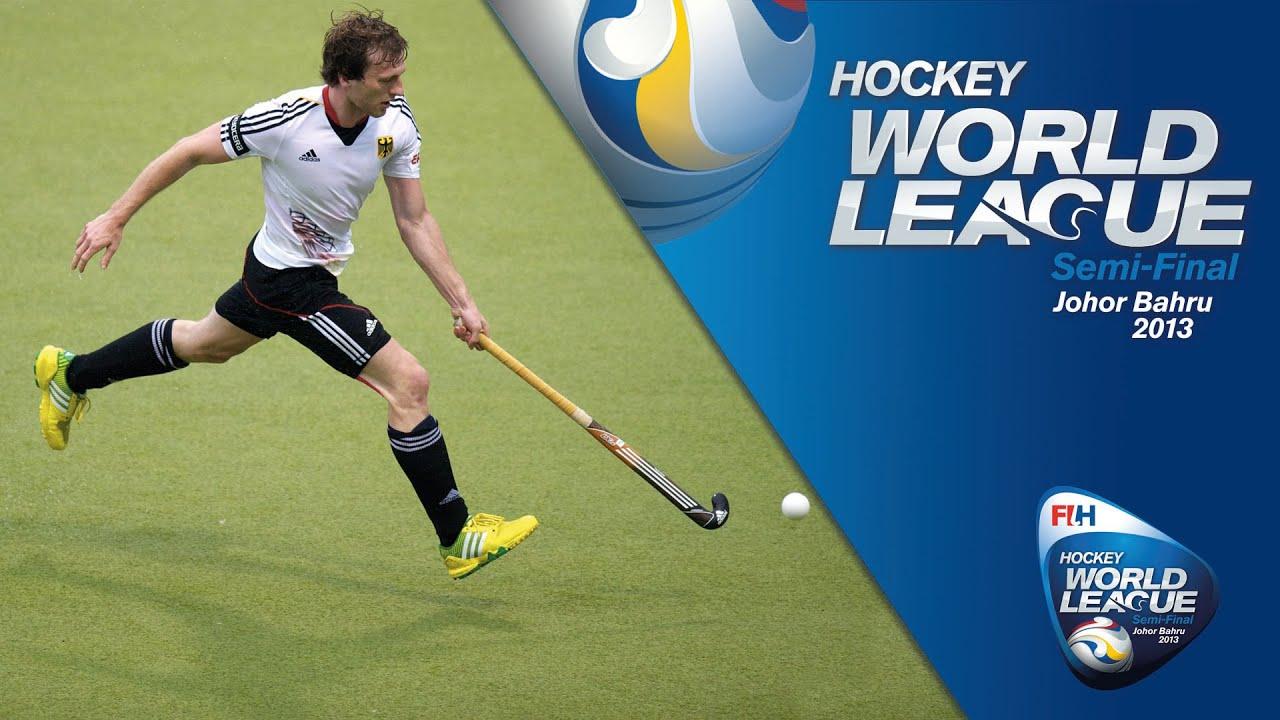 Germany vs Japan Men's Hockey World League Johor Pool A ...