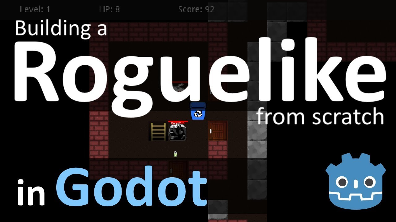 Building a Roguelike from Scratch in Godot,