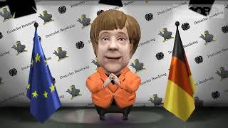 Ангела Меркель  Зайка Zoobe  Прикол