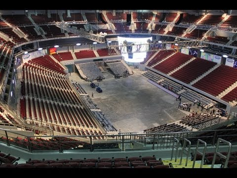 PHILIPPINE ARENA UPDATE 2013 - YouTube
