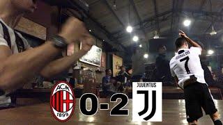 AC Milan vs Juventus (0-2) - Live Reaction Ronaldo Goal! 12-11-18