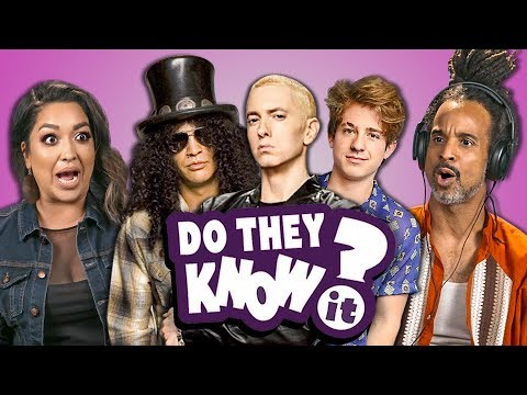 Do Parents Know Modern Music? #22 (React: Do They Know It?)