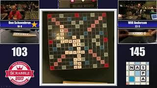 2017 Scrabble Championship FINAL GAME