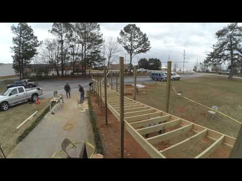 Handicap Ramp Construction