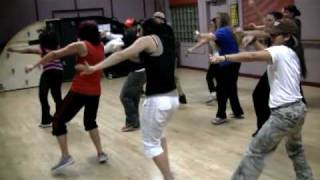Money in the Bank - Swizz Beatz - FUNKMODE Hip Hop Dance Class - December 2009