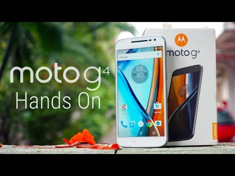 Moto G4 - Unboxing & Hands On!